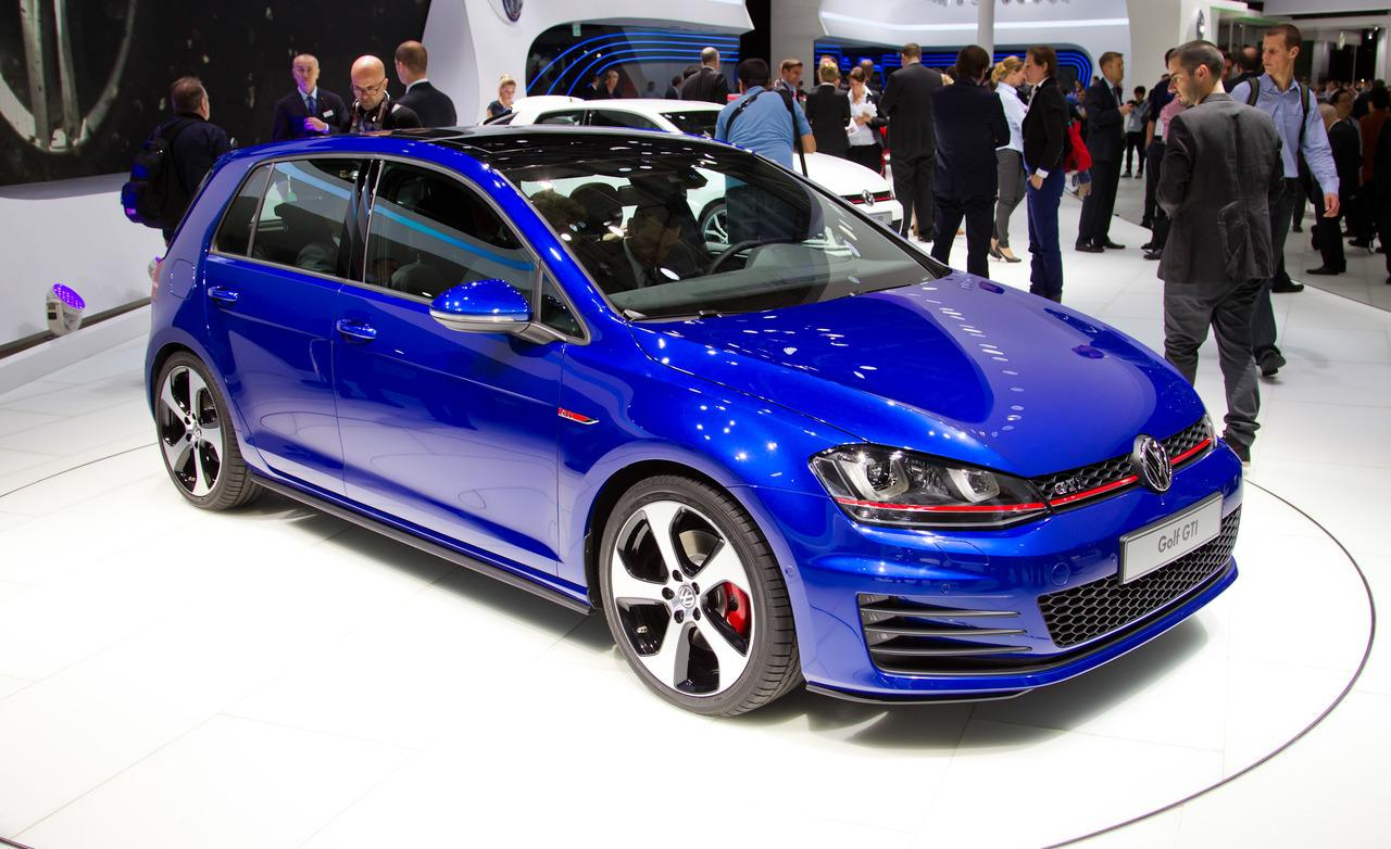 2014 Volkswagen Golf Gti Blue
