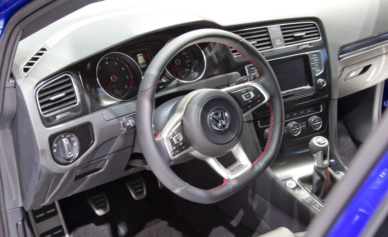 2014 Volkswagen Golf Gti Interior