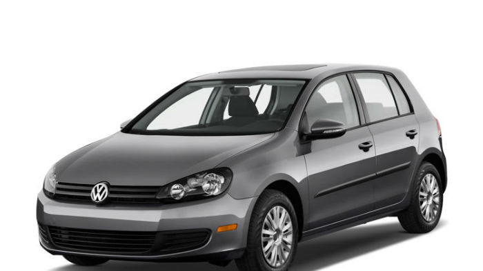 2014 Volkswagen Golf TDI With Sunroof And Navigation Automatic