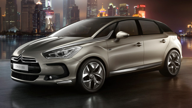 2013 Citroen DS5 Redesign