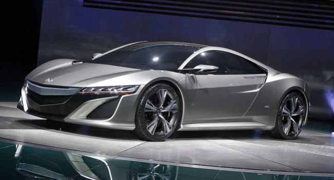 2014 Acura NSX Wallpapers