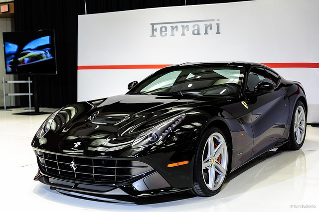 2014 Ferrari F12 Berlinetta Black