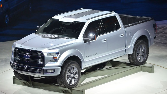 2014 Ford Atlas Release