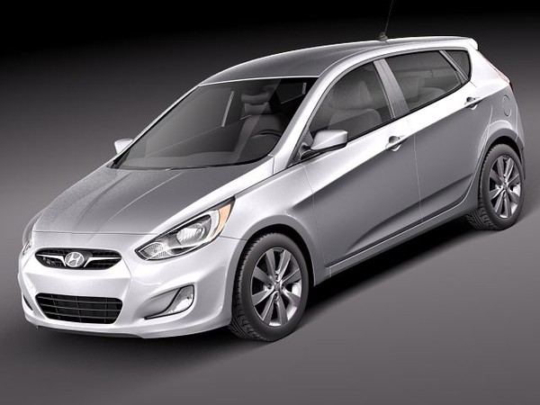2014 Hyundai Accent Hatchback 2014 hyundai Accent