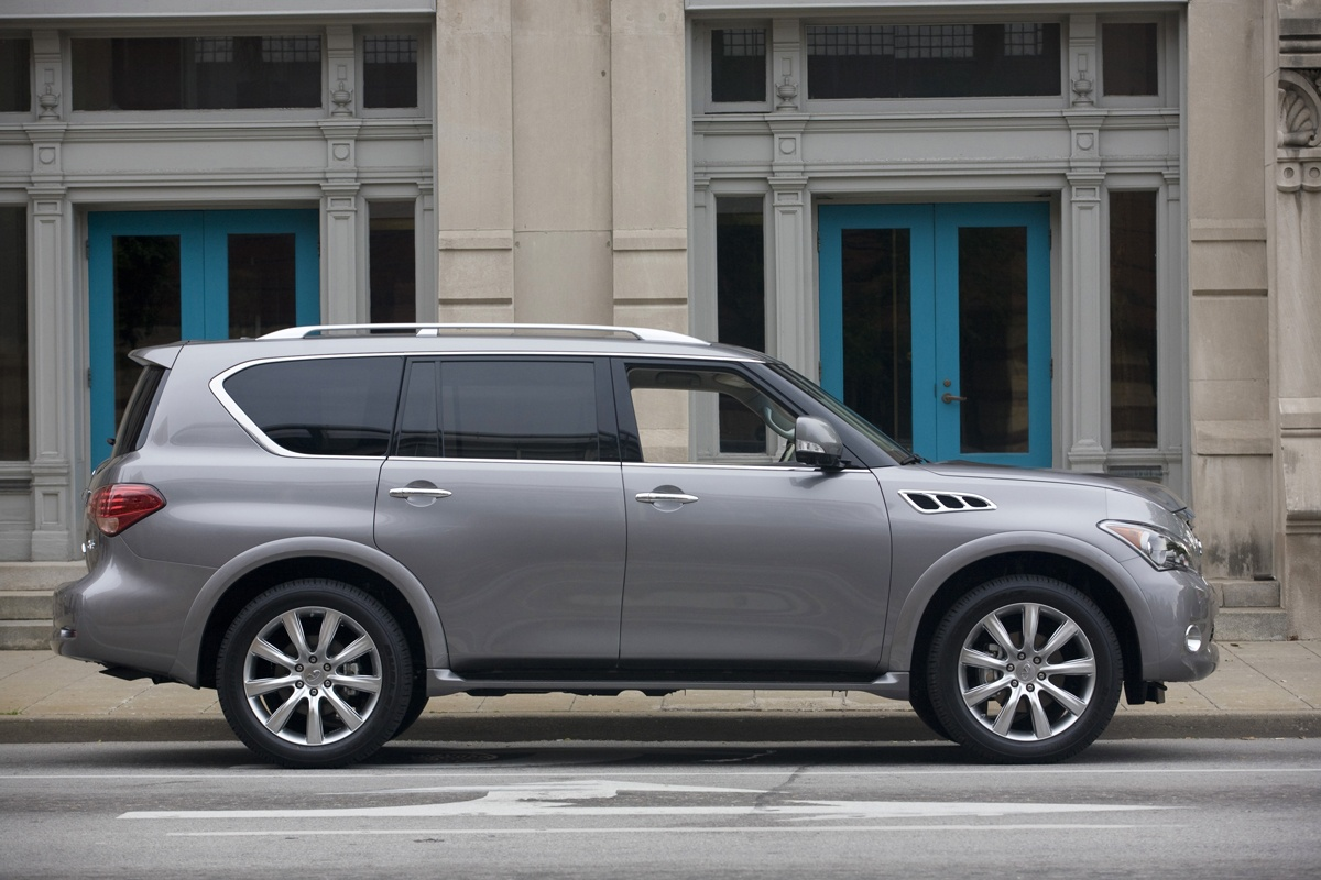 2014 Infiniti QX80 Changes
