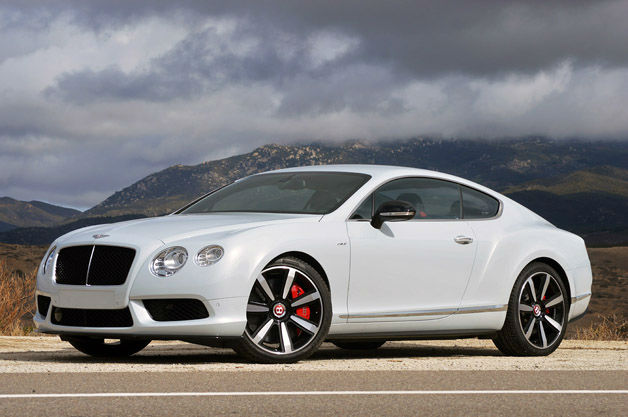 2015 Bentley Continental GT White
