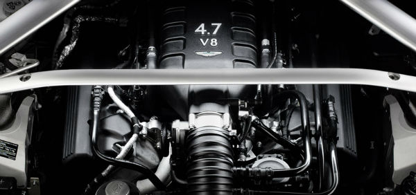 2015 Aston Martin Vantage GT Engine