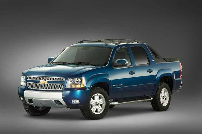 2015 Chevy Avalanche Concept